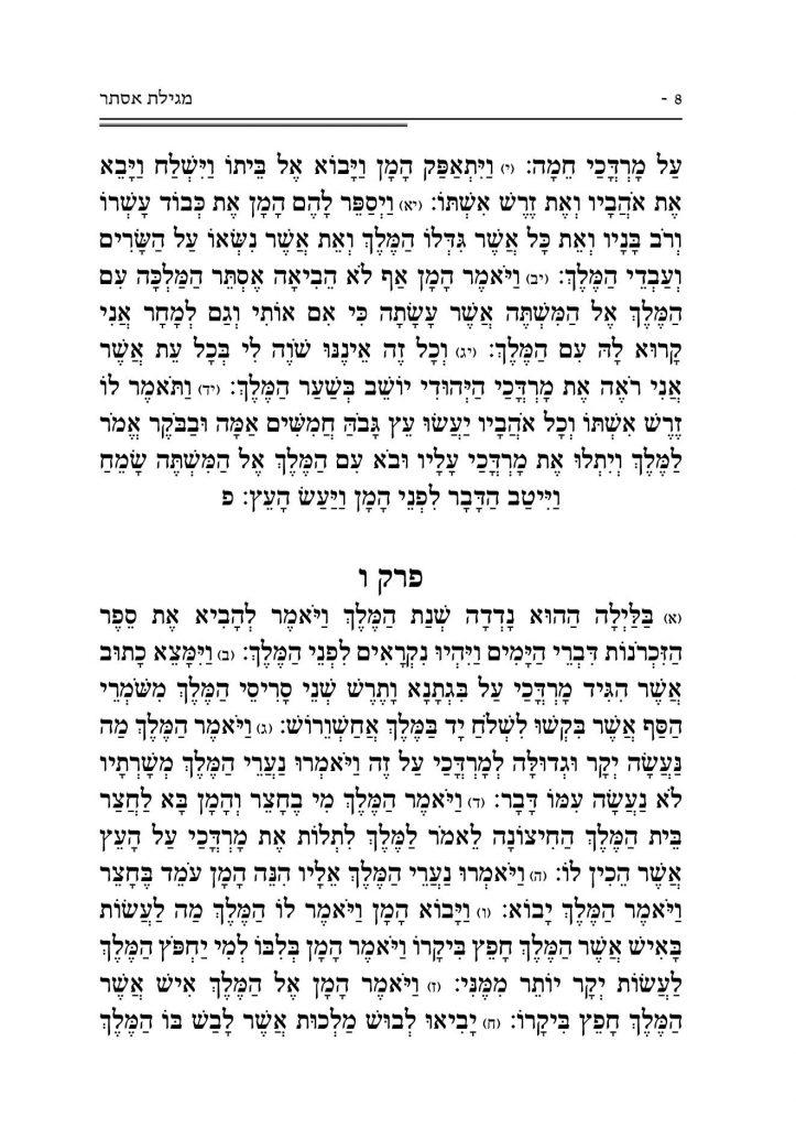 מגילת אסתר 8